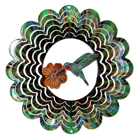 Next Innovations Kaleidoscope Hummingbird Wind Spinner