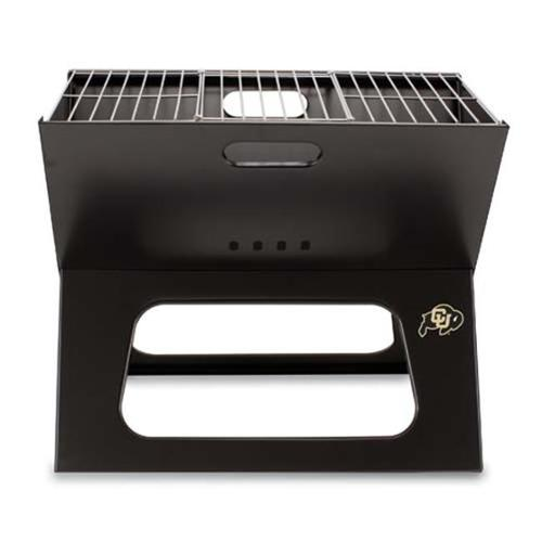 Picnic Time PT-775-00-175-124-0 Colorado Golden Buffaloes X-Grill in Black