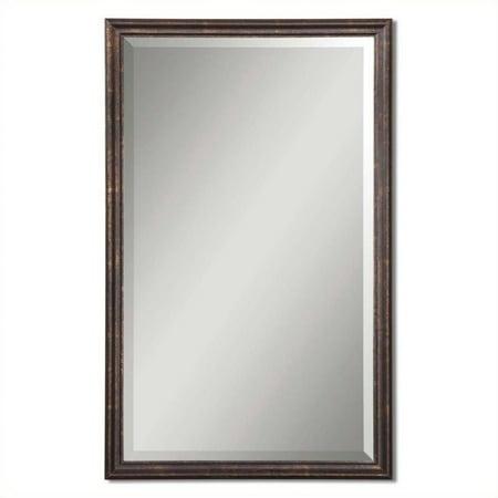 Uttermost Renzo Vanity Mirror in Distressed (Bronze Vintage Vanity)