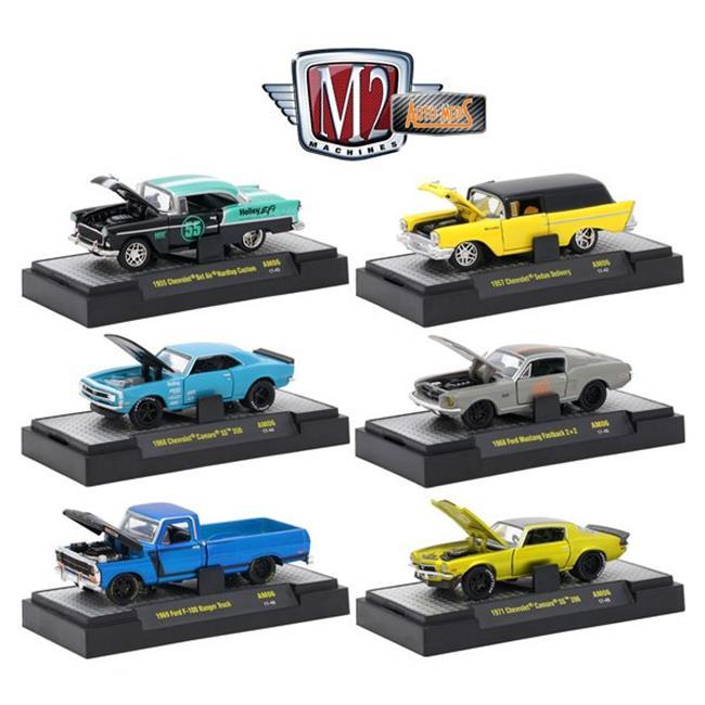 Auto-Mods Release 6 Car Toys - 6 Piece Set, 8 Years Above - image 1 de 1