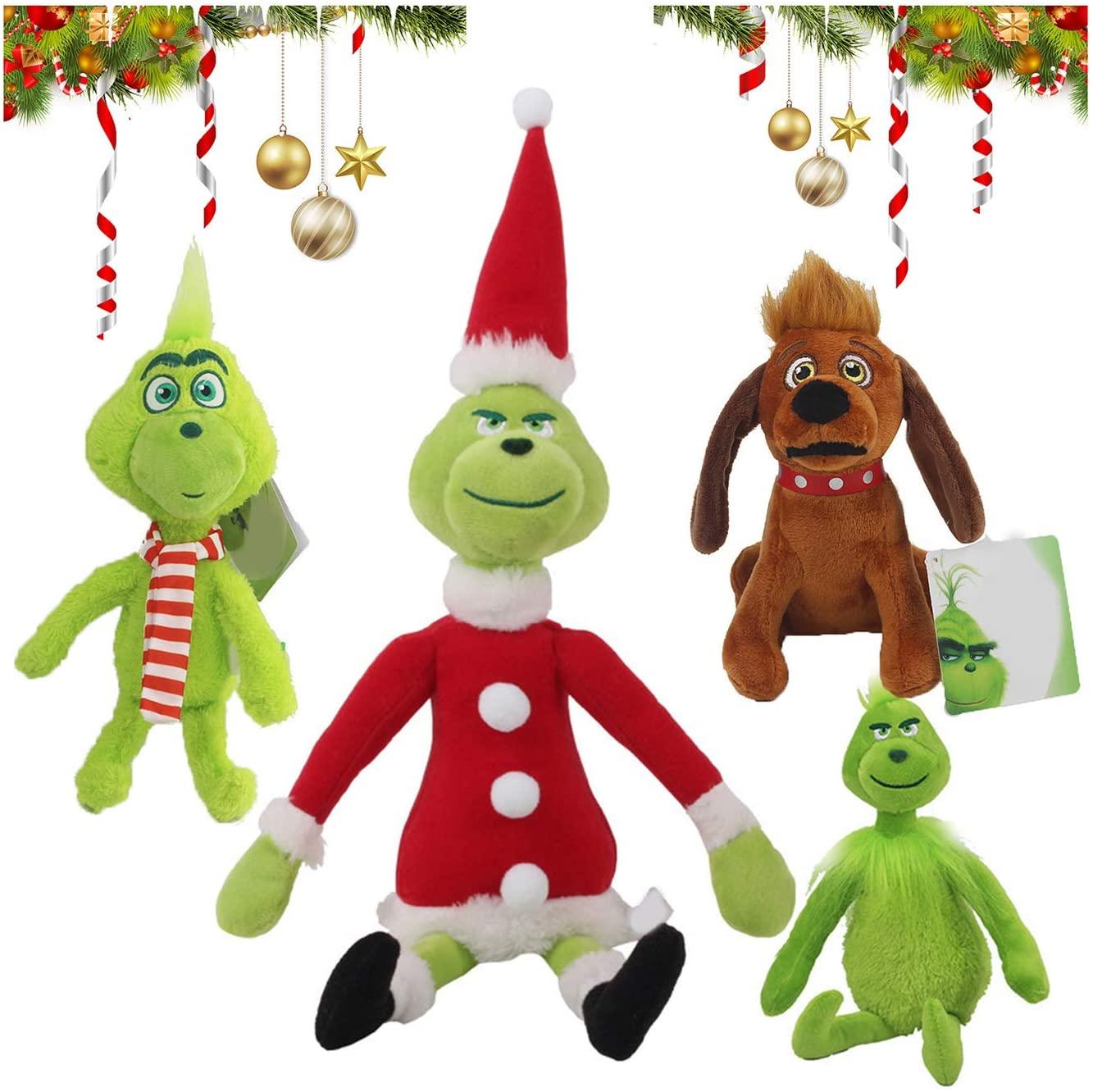 The Grinch stuffed toy animal Christmas