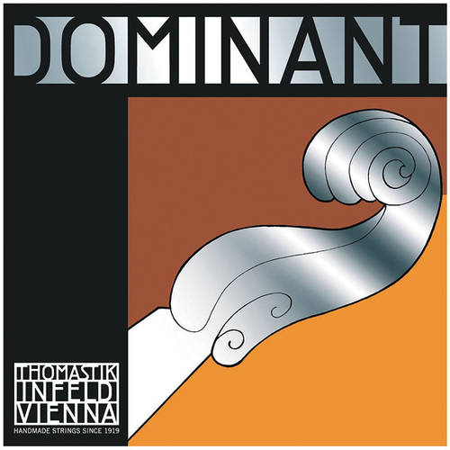 Thomastik-Infeld Dominant Nylon-Core Cello String, Chrome Wound, Medium Gauge, 3/4, G