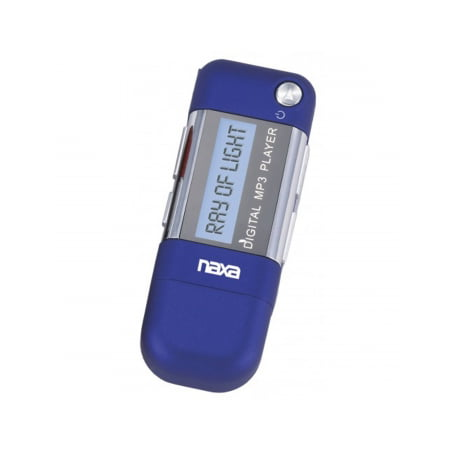 Naxa MP3 Player with 4GB Built-in Flash Memory, LCD Display and Built-in