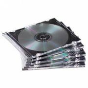 CheckOutStore 400 SLIM Black CD Jewel Cases