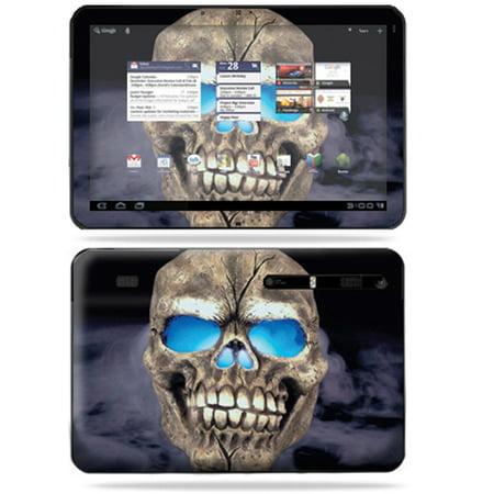 Mightyskins Protective Vinyl Skin Decal Cover For Motorola Xoom Tablet Wrap Sticker Skins Psycho Skull