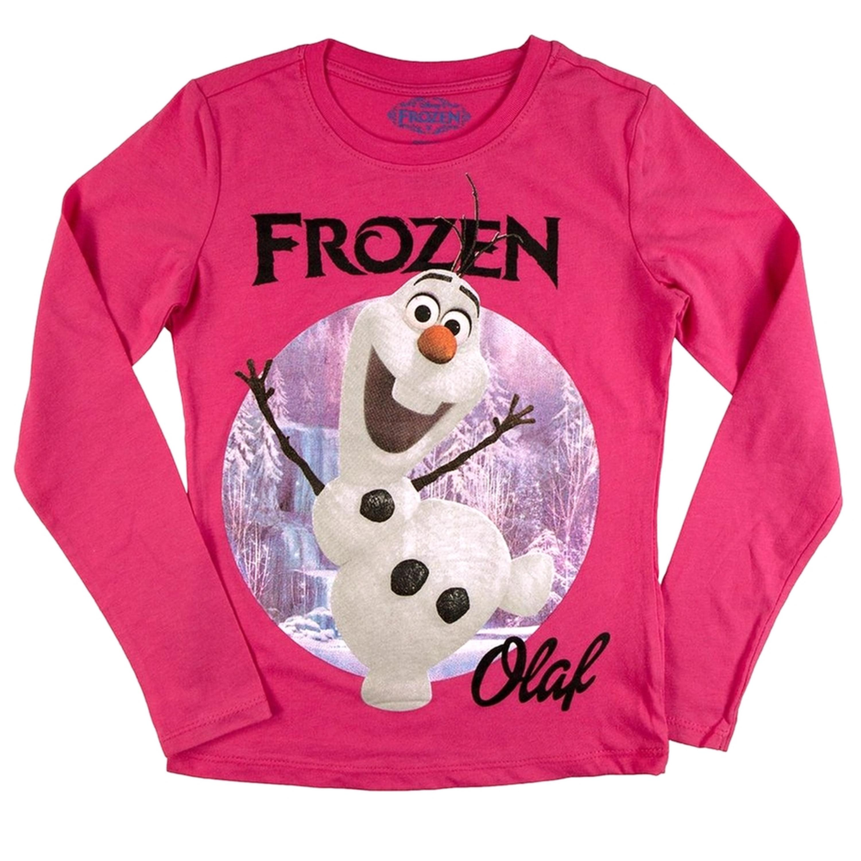 Frozen - Olaf Frozen Girls Juvy Long Sleeve T-Shirt