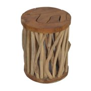 Crafted Home 's  Malone Organize Wood Side Table