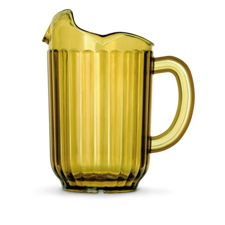 Traex 6010-16 Amber 60 Ounce 3 Lipped - Amber Pitcher