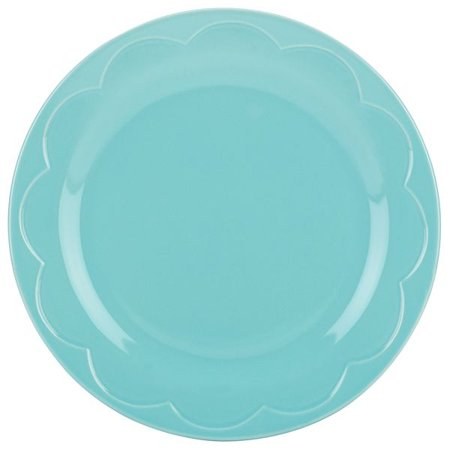 kate spade new york kitchen Turquoise Sculpted Scallop Accent Plate