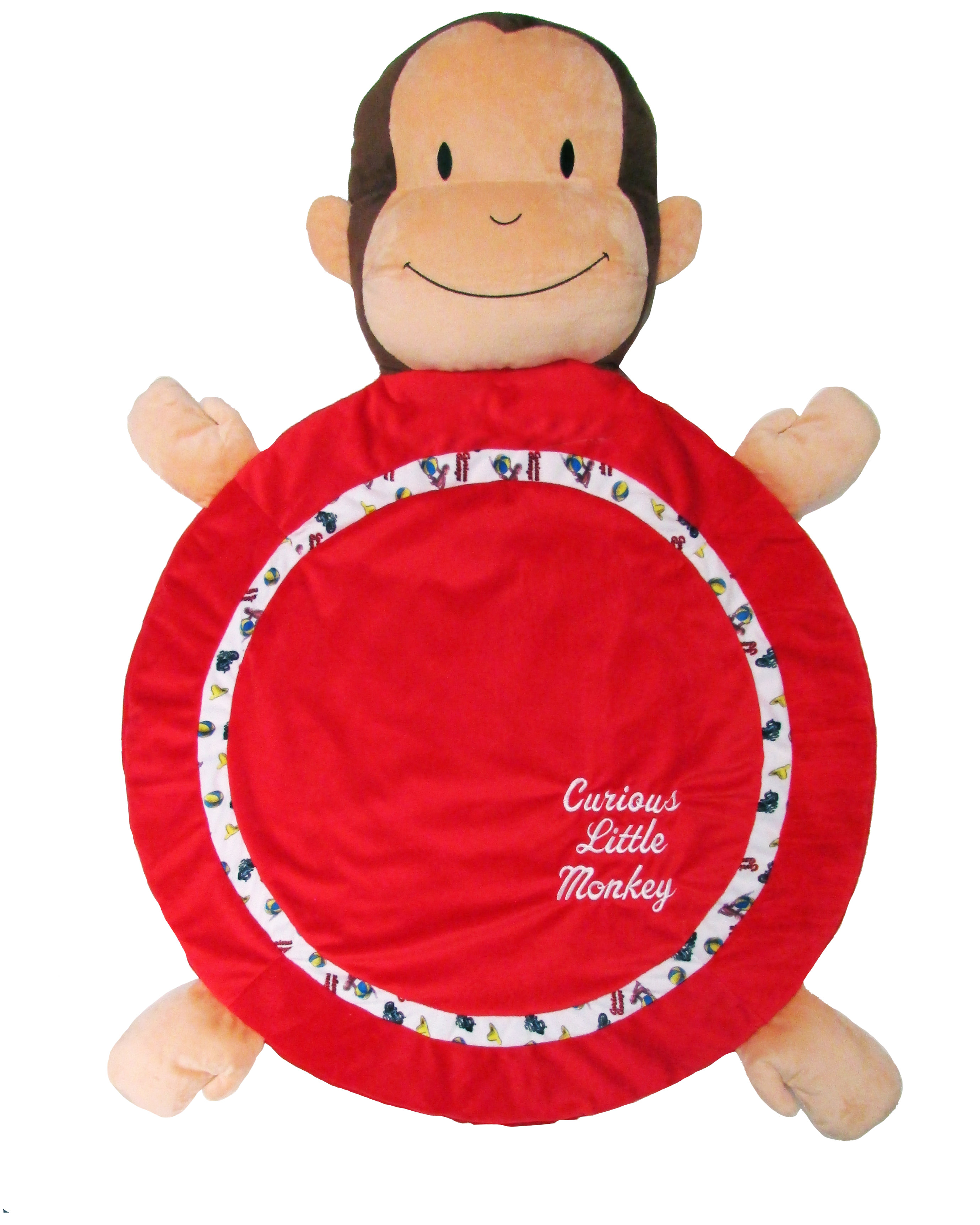 Curious George Playmat by Kids Preferred