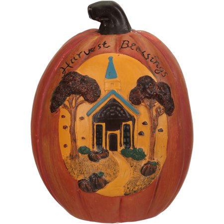Wal-Mart Halloween Harvest Blessings Decorative Pumpkin (Easy Halloween Pumpkin)