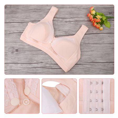 270025c63ca HERCHR Cotton Wire Free Maternity Nursing Breast Feeding Bras Prevent  Sagging Pregnant Women Underwear