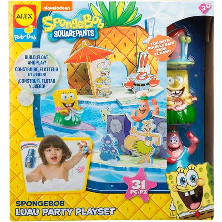 Alex Toys SpongeBob Luau Party Playset