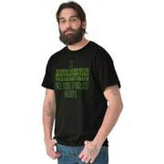 Nerd Mens T-Shirts T Shirts Tees Tshirt Binary First Date Funny y Geeky Coding