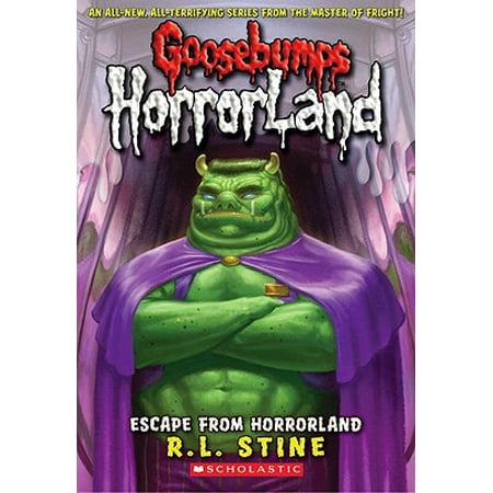 Escape from Horrorland (Goosebumps Horrorland - Slappy Doll From Goosebumps