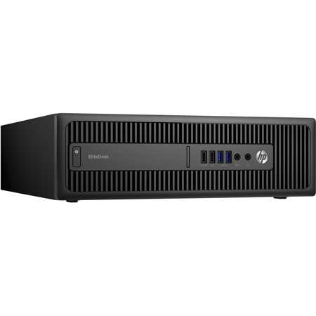 HP Business 800 G2 EliteDesk Small Form Factor Desktop PC with Intel Core i5-6500 Processor, 8GB Memory, 500GB Hard Drive and Windows 7 Professional (Monitor Not Included)