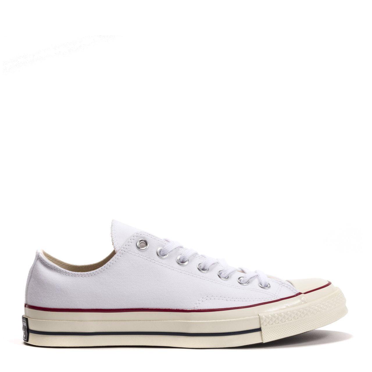 Converse Mens Converse Chuck Taylor All Star 70 Low Top White Garnet Egret 1620