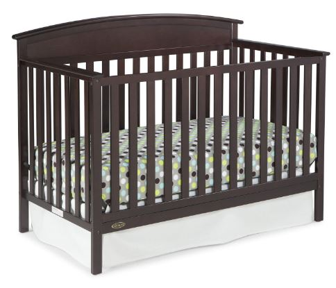 Graco Benton 5 In 1 Convertible Crib Mattress Value Bundle