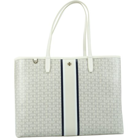 7da26f03b92f Tory Burch - Tory Burch Women s Gemini Link Tote Bag Top-Handle - New Ivory  - Walmart.com