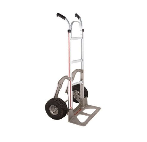 """Assembled Magliner Hand Truck 18"""" Nose 10"""" Air Tire with Stair Glides (60"""" Tall) by Magliner (Made in U.S.A.)"""