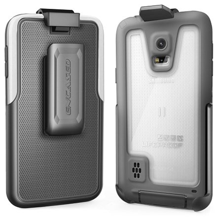 Belt Clip Holster for LifeProof FRE Case - Samsung Galaxy S5 (By Encased) (case is not included) ()