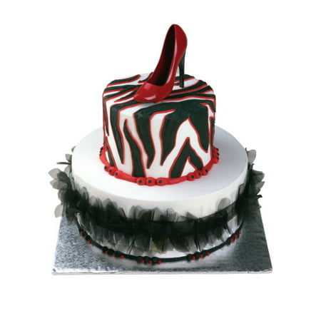 Ladies Red High Heel Cake Topper