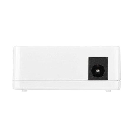 WALFRONT Mini Network Switch, Network Switch,Mini 5 Port Fast Ethernet 100 MB Full/Half Duplex Self-adaptive Network Switch Switcher - image 1 of 6