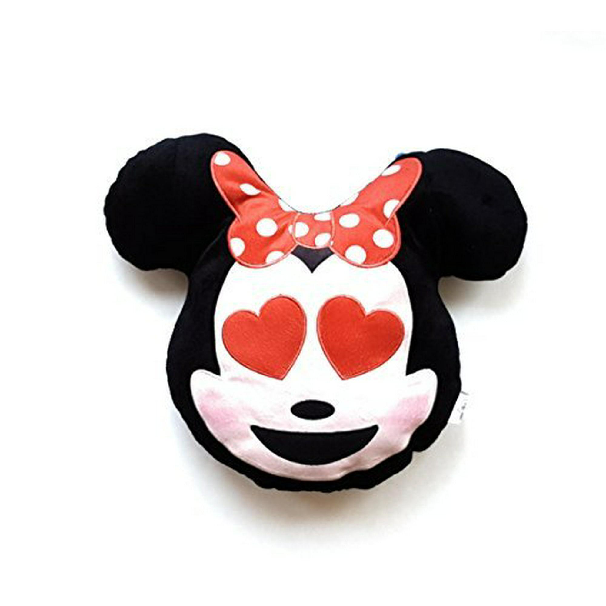 Disney Emoji Plush Pillow - Minnie - Heart Face Emoji | Walmart Canada