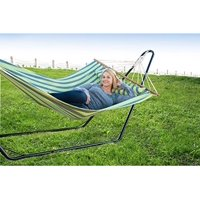 Patio Bliss Hammock Stand 10 ft. Steel - Black
