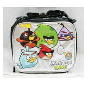 Lunch Bag - Angry Birds - Space (Black/Silver) New Case Boys Gifts an11528