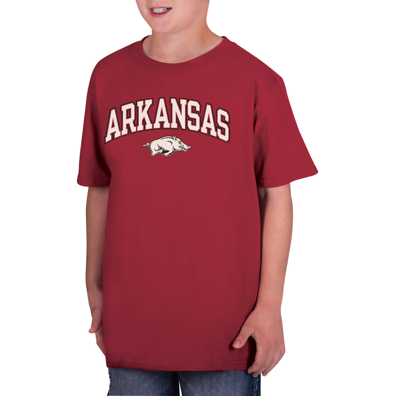 NCAA Arkansas Razorbacks Boys Classic Cotton T-Shirt