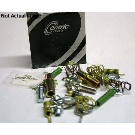 OE Replacement for 2005-2011 Mercedes-Benz SL65 AMG Rear Parking Brake Hardware Kit (Base / Black