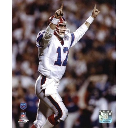 Jim Kelly Super - Bowl XXV 1991 Action Sports Photo