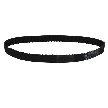 Unique Bargains 304L 81 Teeth Engine Timing Belt Rubber Geared-Belt 772mm Girth 25mm Width - image 1 de 1
