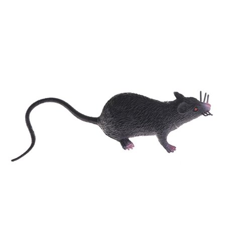 Plastic Rats Mouse Model Trick Toys Halloween Decor Tricks Pranks Props Toy Color:Black](Good Morning America Halloween Prank)