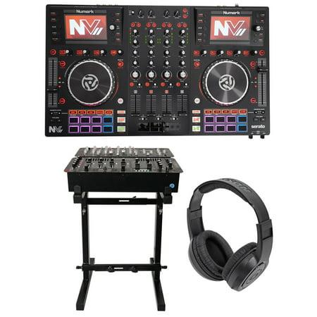 Numark NVII Dual-Display Serato DJ Controller 4-Channel,