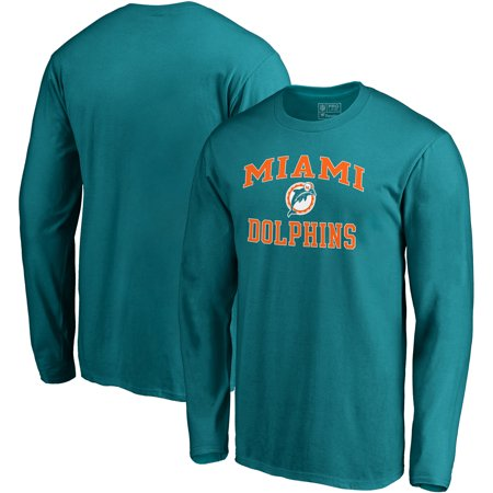 Miami Dolphins NFL Pro Line by Fanatics Branded Vintage Victory Arch Long Sleeve T-Shirt - Aqua](Miami Dophins)