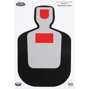 "Birchwood Casey 35717 Dirty Bird BC-19 Silhouette 12"" x 18"" Target 8 Pack Black/Gray/Red"