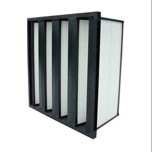 Air Handler 11Z799 100% Synthetic Media 20x24x12 V-Bank Air Filter
