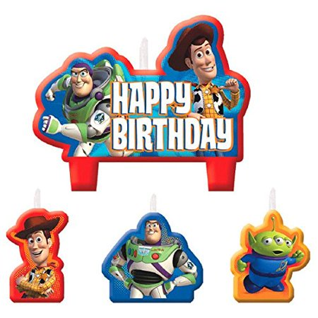 Toy Story Candle Set (4 Pack)](Candle Character)