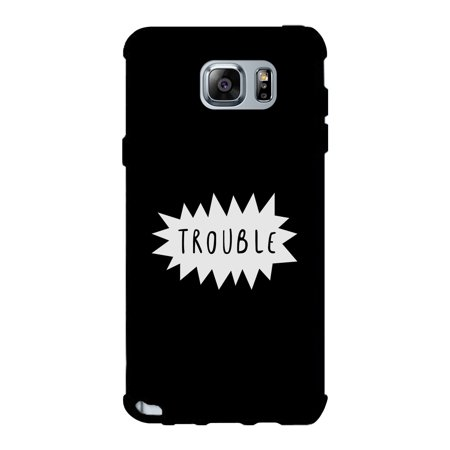 Double Trouble-Right Black Galaxy Note 5 Case Gift For Best (Best Galaxy Note 2 Launcher)
