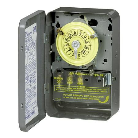 Swell Intermatic T104 40 Amp Type 1 Steel Mechanical Timer Walmart Com Wiring Cloud Geisbieswglorg