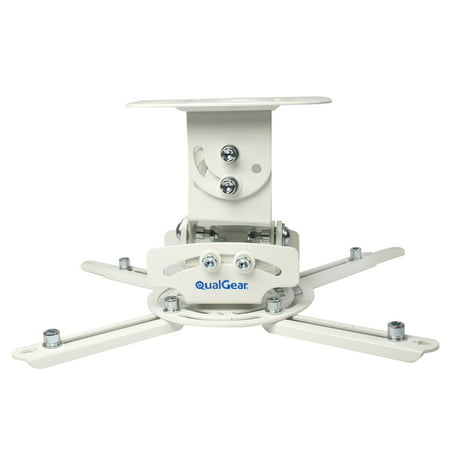 Inverted Custom Projector Mount - QualGear PRB-717 Universal Projector Ceiling Mount