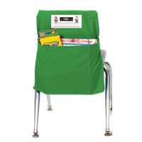 Seat Sack 12 In. Durable Small Storage Pocket, Green
