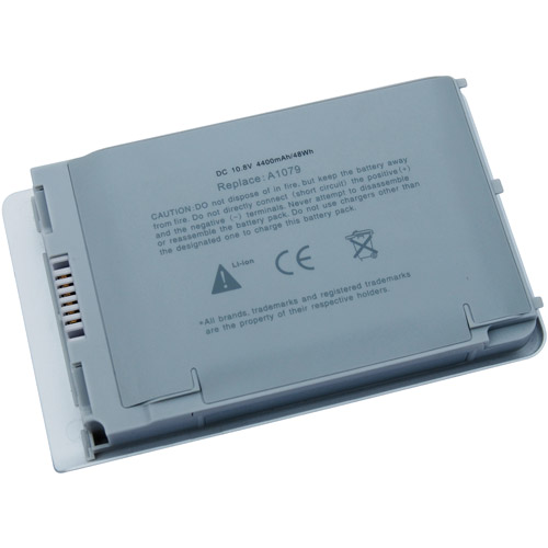 Laptop Battery Pros Replacement Battery for Apple PowerBook, Gray
