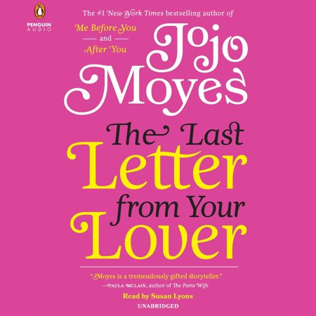 The Last Letter from Your Lover - Audiobook