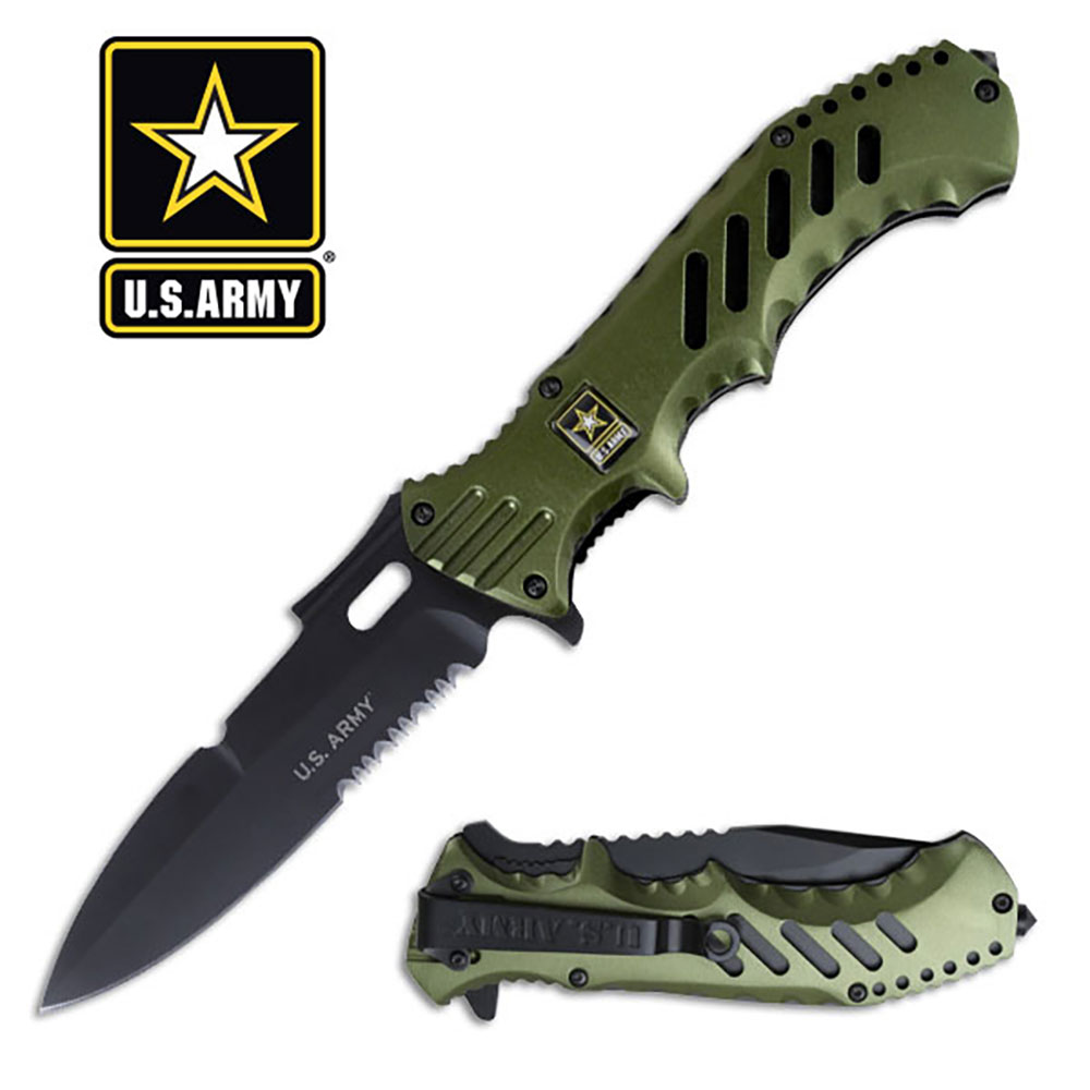 U.S. Army Spring Assisted Knife