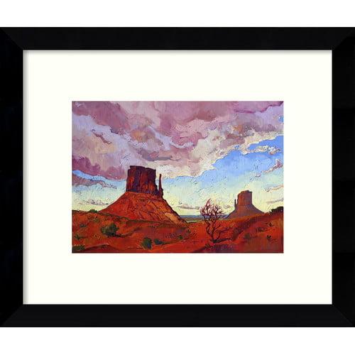 Loon Peak The Guardians Desert Framed Graphic Art
