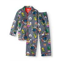 Boy's Nintendo Super Mario Pajama Coat Set (Little Boy & Big Boy)