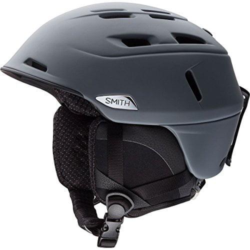 Smith Optics Unisex Adult Camber Snow Sports Helmet Matte Charcoal Large (59-63CM) by Smith Optics